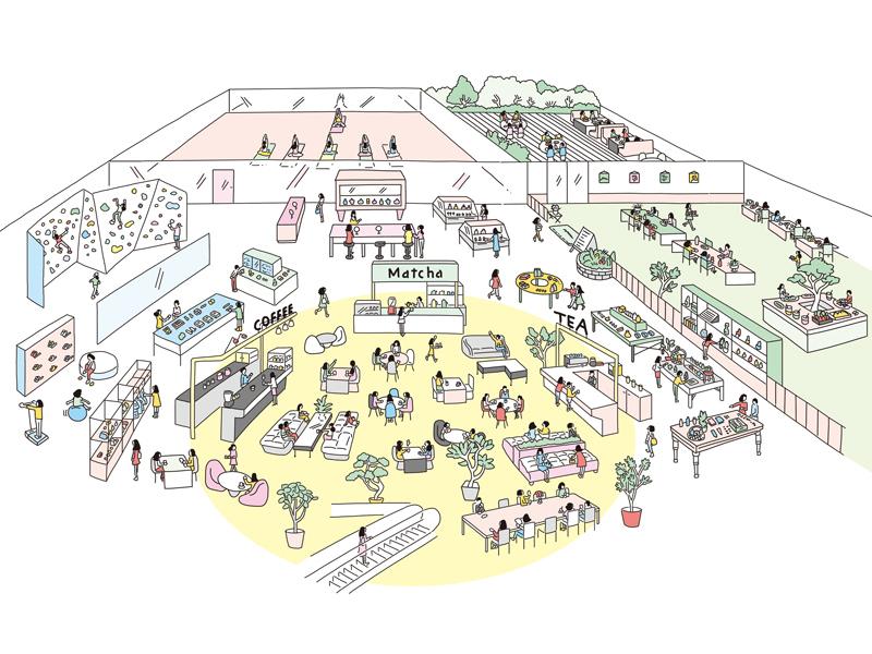 商業空間に必要なのは、「売場」ではなく「広場」?