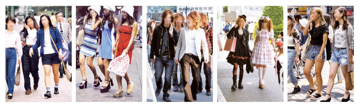 若者のファッションは、より幅広く、より繊細になった