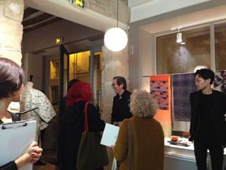 KYOTO SOMÉ & ORI Projectの展示会風景
