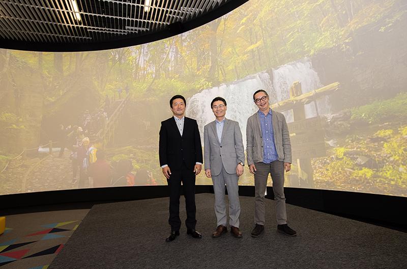 日本最大級・最新の360度3Dシアターに全面リニューアル 青森県の地域活性を目指し、デジタルが実現する「本物の観光体験」