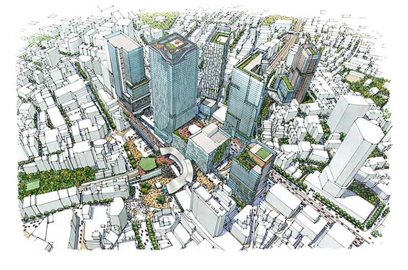 駅と街が一体となった渋谷駅周辺の再開発。 アーバン・コアと歩行者デッキで街に人を送り出す――東浦亮典さんに聞く、2019年の再開発が街にもたらす変化とは(後編)